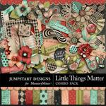 Little Things Matter Combo Pack-$4.80 (Jumpstart Designs)