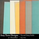 Up And Away Solid Paper Pack-$3.49 (Amy Teets)