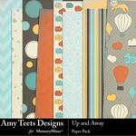 Up And Away Paper Pack-$3.49 (Amy Teets)