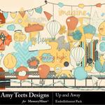 Up And Away Embellishment Pack-$3.49 (Amy Teets)