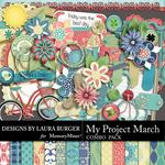 My Project March Combo Pack-$4.99 (Laura Burger)