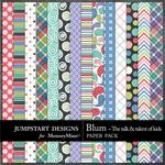 Blum Pattern Paper Pack-$3.49 (Jumpstart Designs)