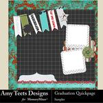 Graduation AT Quick Pages-$0.99 (Amy Teets)