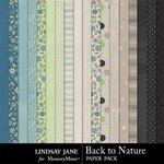 Back to Nature Paper Pack-$3.49 (Lindsay Jane)