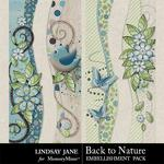 Back to Nature Borders-$1.99 (Lindsay Jane)