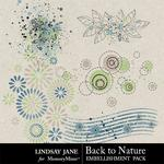 Back to Nature Scatterz-$1.99 (Lindsay Jane)