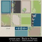 Back to Nature Journal Cards-$1.99 (Lindsay Jane)