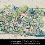 Back to Nature Embellishment Pack-$3.49 (Lindsay Jane)