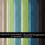 Beautiful Imagination Solid Paper Pack-$3.49 (Laura Burger)