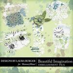 Beautiful Imagination Gesso Fragments-$2.49 (Laura Burger)