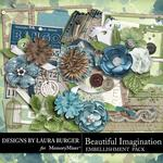 Beautiful Imagination Embellishment Pack-$3.49 (Laura Burger)
