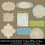 I Am Who I Am Journals-$1.25 (Laura Burger)