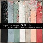 Solitude Hotmess Solid Paper Pack-$3.99 (Fayette Designs)