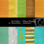 Hoos Funky Paper Pack-$4.00 (Amy Sumrall)