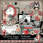 Solitude Embellishment Pack-$3.99 (Fayette Designs)
