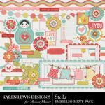 Stella Embellishment Pack-$2.99 (Karen Lewis)