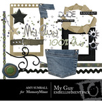 My Guy Embellishment Pack-$3.00 (Amy Sumrall)