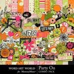 Party On Combo Pack-$4.99 (Word Art World)