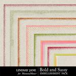 Bold and Sassy Edges-$1.99 (Lindsay Jane)
