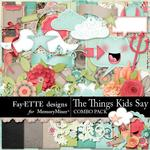 The Things Kids Say Combo Pack-$4.99 (Fayette Designs)