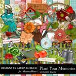 Plant Your Memories Combo Pack-$4.99 (Laura Burger)