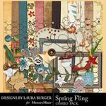 Spring Fling Combo Pack-$4.99 (Laura Burger)