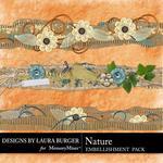 Nature Borders-$1.25 (Laura Burger)