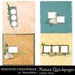 Nature Quickpages-$3.49 (Laura Burger)