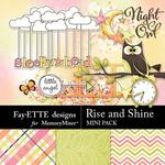 Rise and Shine Mini Pack-$2.99 (Fayette Designs)