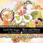 Rise and Shine Embellishment Pack-$3.49 (Fayette Designs)
