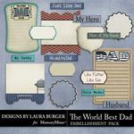 The Worlds Best Dad Journals-$2.49 (Laura Burger)