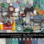 The Worlds Best Dad Combo Pack-$4.99 (Laura Burger)
