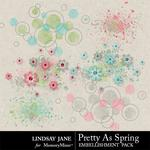Pretty As Spring Scatterz-$1.99 (Lindsay Jane)