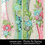 Pretty As Spring Borders-$1.99 (Lindsay Jane)