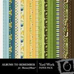 Yard Work Paper Pack-$3.99 (Albums to Remember)