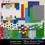 More Soccer Stars Journal Cards-$1.99 (Lindsay Jane)