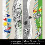 More Soccer Stars Borders-$1.99 (Lindsay Jane)
