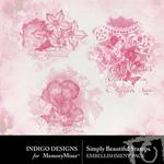 Simply Beautiful Accents-$1.99 (Indigo Designs)
