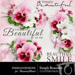 Simply Beautiful Clusters-$1.99 (Indigo Designs)