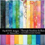 Through Sunshine and Rain Hotmess Solid Papers-$4.99 (Fayette Designs)