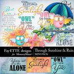 Through Sunshine and Rain Mini Pack-$2.99 (Fayette Designs)