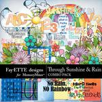 Through Sunshine and Rain Combo Pack-$6.99 (Fayette Designs)