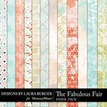 The Fabulous Fair Grunge Paper Pack-$1.75 (Laura Burger)