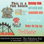 The Fabulous Fair WordArt-$1.25 (Laura Burger)