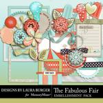 The Fabulous Fair Add On Embellishment Pack-$3.49 (Laura Burger)