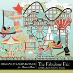 The Fabulous Fair Embellishment Pack-$3.40 (Laura Burger)