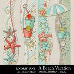 A Beach Vacation Borders-$1.00 (Lindsay Jane)