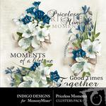 Priceless Moments Clusters-$1.99 (Indigo Designs)