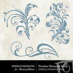 Priceless Moments Swirls-$1.00 (Indigo Designs)