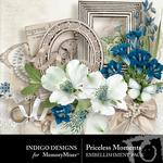 Priceless Moments Embellishment Pack-$1.50 (Indigo Designs)